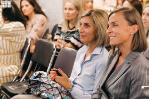 Гости на выступлении стилиста Лены Мясниковой на девичник клуба красоты authentica club нижний новгород
