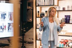Выступление стилиста Лены Мясниковой на девичнике клуба красоты authentica club нижний новгород