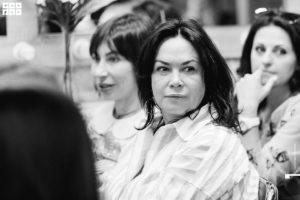 Черно-белое фото с летнего мероприятия клуба красоты authentica club нижний новгород