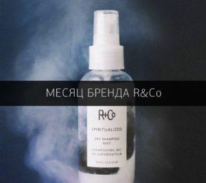 Месяц бренда R+Co - косметика для волос со скидкой