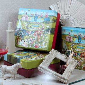 Фирменные новогодние наборы косметики в authentica club Нижний Новгород